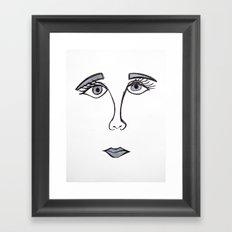 Face 4.1 Framed Art Print