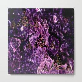Purple Twilight Metal Print