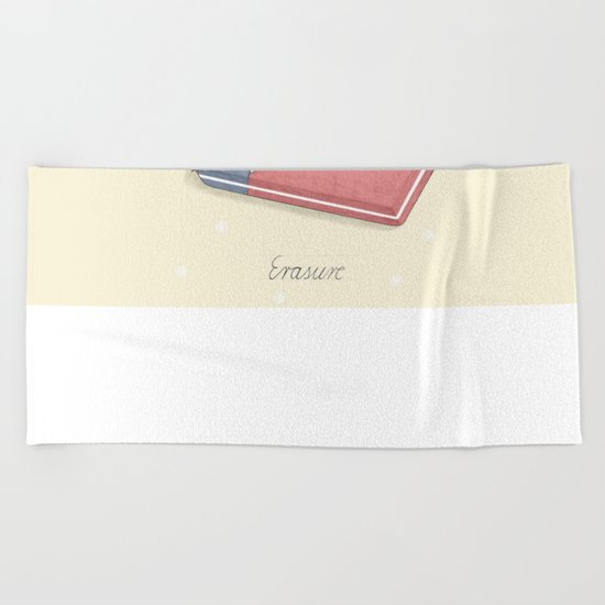 Erasure Beach Towel