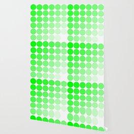 Green Circle Color Chart Wallpaper