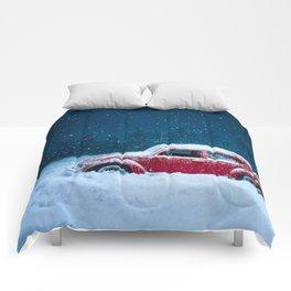 Winter Toy Car Comforters