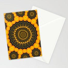 Spider webs, Halloween fractal art Stationery Cards