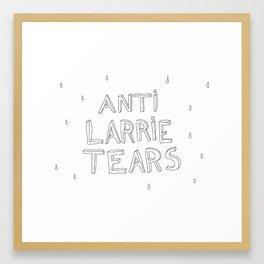anti larrie tears Framed Art Print