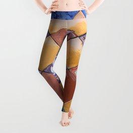 multicolor ceramic tiles Leggings