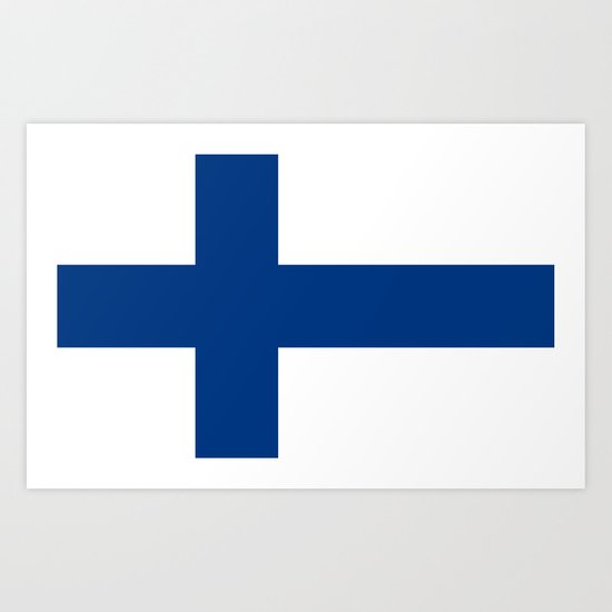 National flag of Finland by brucestanfield