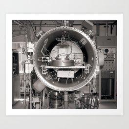 Klystron with Electron Tubes Art Print