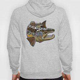 Killer Brown trout Hoody