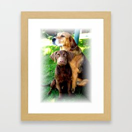 Ain't Nothing But A Hound Dog Framed Art Print