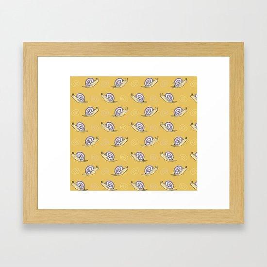 Snails & Swirls Pattern by tanyalegere