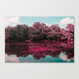 Monocacy River Reflections Canvas Print