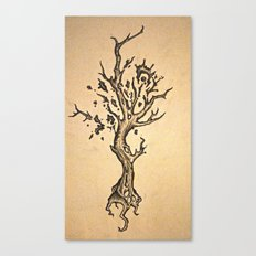 deeply rooted Canvas Print