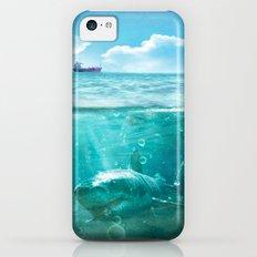 Blue iPhone 5c Slim Case