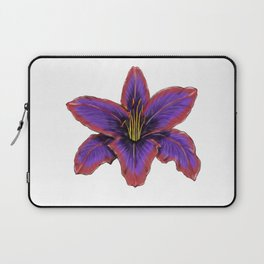 Stylized Lily Laptop Sleeve
