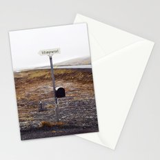 Post box, Iceland Stationery Cards