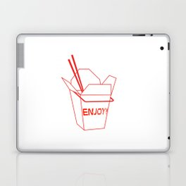 Enjoy! Takeout Box  Laptop & iPad Skin