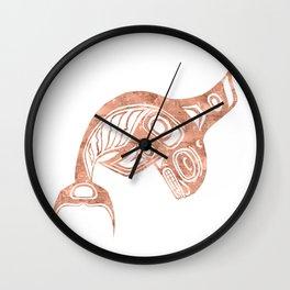 Copper Keét Wall Clock