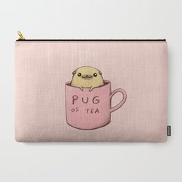 Pug of Tea Carry-All Pouch