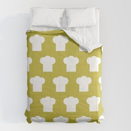 chef hat pattern Comforters