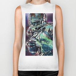 Football Player Biker Tank