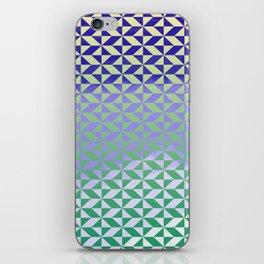 Magic Vibrations (Green) iPhone Skin