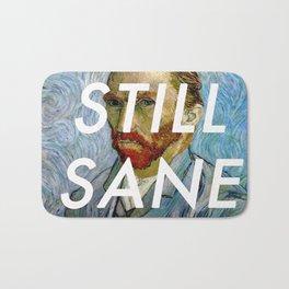van Gogh is Still Sane Bath Mat