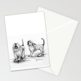 Milo and Minnow Sing in Harmony Stationery Cards