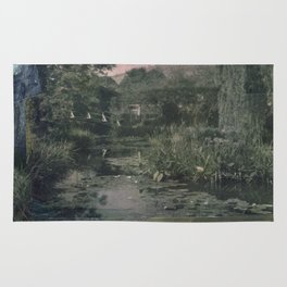 Pond Color Study no.2 Rug