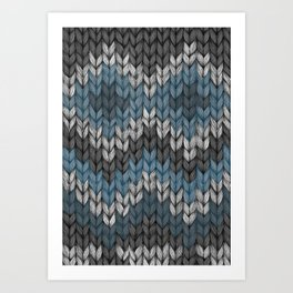 knit3 Art Print
