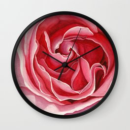 Pink Bloomer Wall Clock