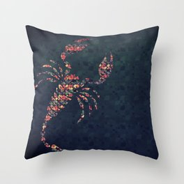 The Pattern Scorpio Throw Pillow