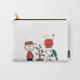 Charlie Brown And Snoopy Carry-All Pouch