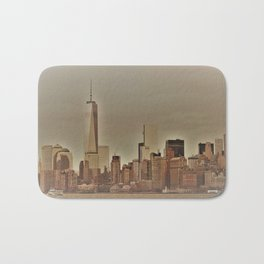 New York Harbor Bath Mat