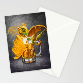 Beer Dragon Stationery Cards