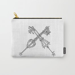 Video Game Weapon Illustration Carry-All Pouch