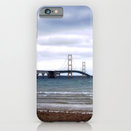 The Mackinac Bridge iPhone Case