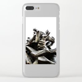 Reaching for Sanity Clear iPhone Case