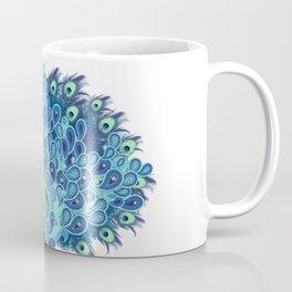 Peacock - Green and BLUE Coffee Mug