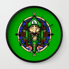 Luigi's Lament Wall Clock