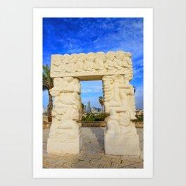 Gate of Faith Art Print