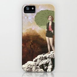 Lady in Space I iPhone Case