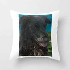 Barry Dog Throw Pillow