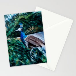 Hounds chasing peacock Stationery Cards