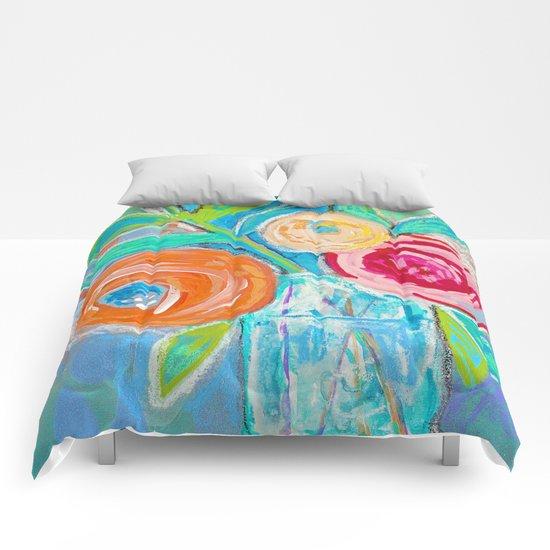floral no.09 Comforters