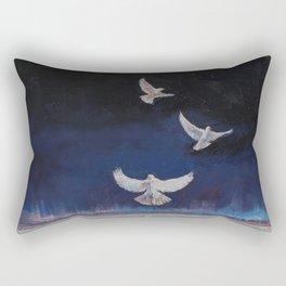Doves Rectangular Pillow