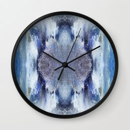 163 - water abstract design Wall Clock