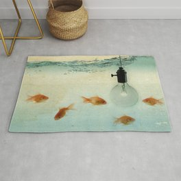 Fishing for ideas Rug