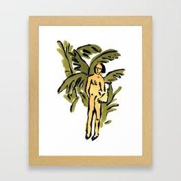 Castaway Framed Art Print