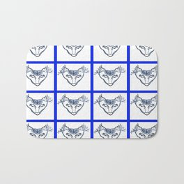 SkyWolf Print Bath Mat