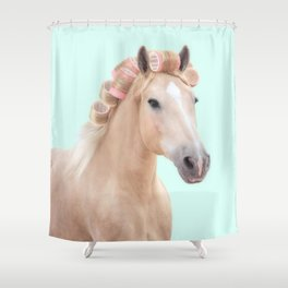 PALOMINO HORSE Shower Curtain