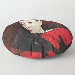 John Singer Sargent - Mademoiselle Suzanne Poirson - Digital Remastered Edition Floor Pillow